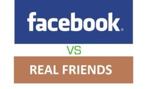 facebook-vs-Real Friends